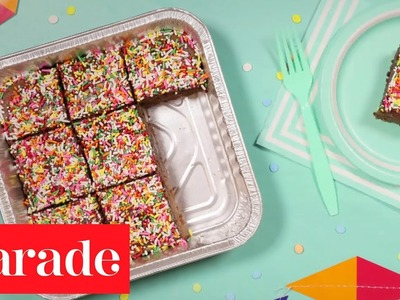 Kitchen Secrets Stop-Motion - Make Perfectly Portable Non-Stick Brownies
