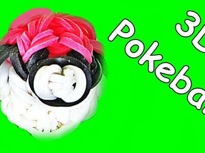 Loom Bandz Anleitung Deutsch Pokeball (Loom Bands Deutsch Pokemon, Rainbow Loom Deutsch)