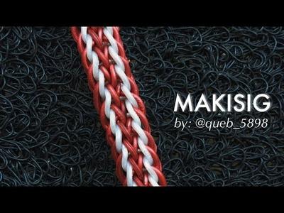 MAKISIG Hook Only bracelet tutorial