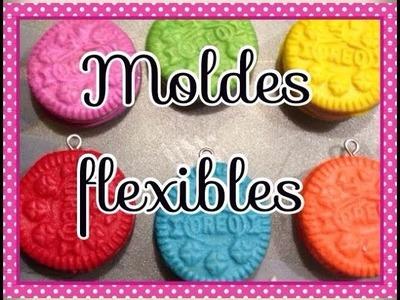 Moldes flexibles caseros para fimo, jumping i clay.flexible molds home