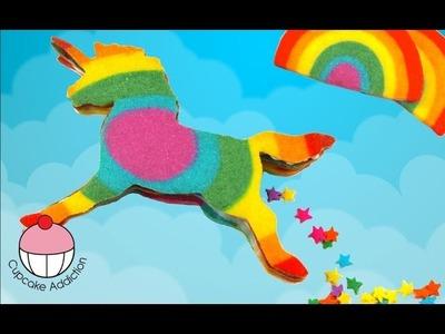 Rainbow Unicorn Cookies - 3D Piñata cookies that POOP STARS! What The?