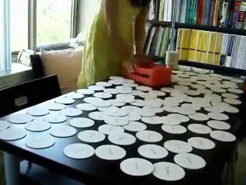 Tutorial 2 Print Gocco Wedding Favors Coaster DIY Project