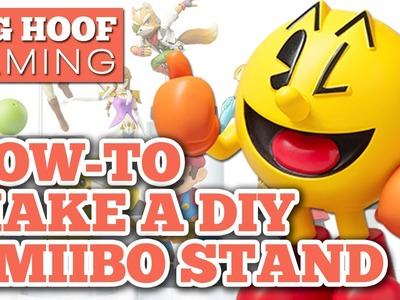 Tutorial - How To Make A DIY Amiibo Stand