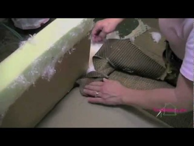Upholstery How To Put The Deck On A Sofa.m4v