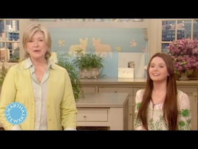 Abigail Breslin Makes a Mother's Day Coupon Book - Martha Stewart