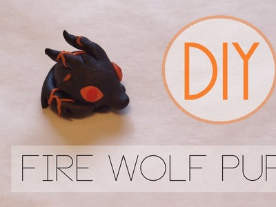 Adventure Time Fire Pup Tutorial [Polymer Clay]