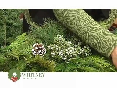 Beautiful fresh Christmas Wreaths, Hand-made in Maine by Whitney Wreath