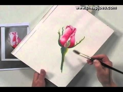 Beginning a Watercolor Painting with Nancy Couick - Part 5 of 5