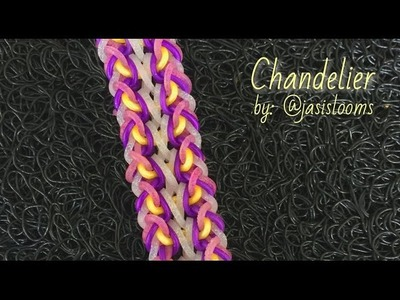 CHANDELIER Hook Only bracelet tutorial