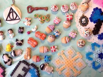 Charm Update #6 | Cats, Cupcakes + Perler Bead Creations