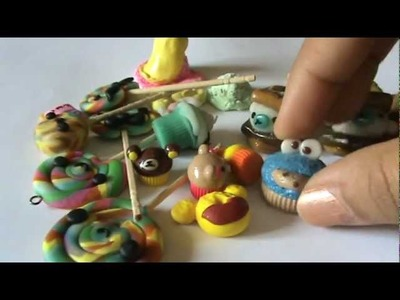 ♥ Charm Update #6 (PAPER CLAY, POLYMER CLAY)♥