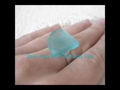 Chesapeake Bay Sea Glass Jewelry by SoapSudAlley