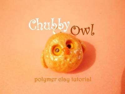 Chubby Owl ❂.❂ Gufetto Paffuto - Tutorial (Polymer Clay)