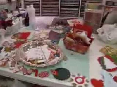 Craft Room Tour Dec 2013, ETSY haul, and Holiday Greetings!