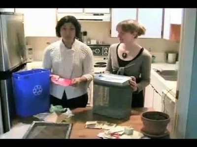 "David Suzuki's Queen of Green - ""How to Make Seed Paper"""