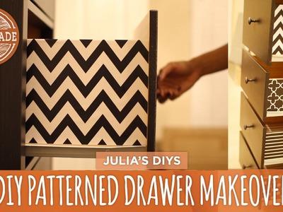 DIY Patterned Drawer Makeover - HGTV Handmade