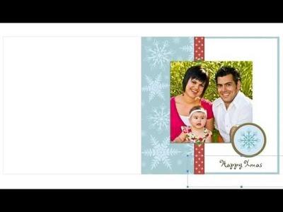 Free Photo Insert Christmas Cards