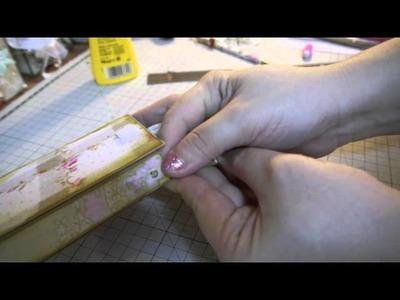 Handmade Purse Gift Boxes & Tutorial Part 2