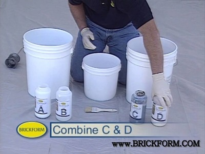 How to color concrete using Brickform FreestylePRO stain