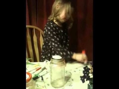 How to decorate a jar