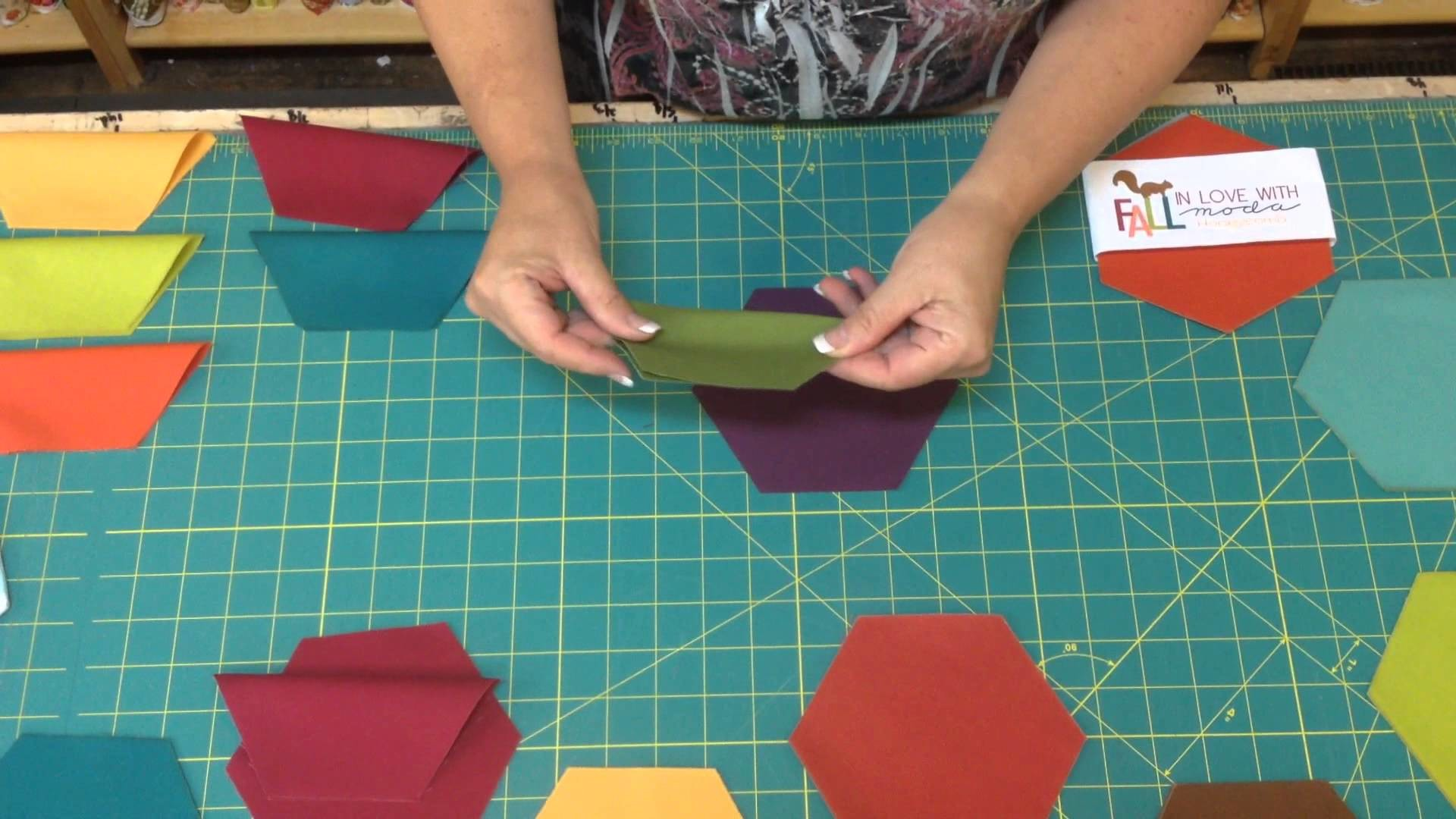 How To Do Hexagon Coasters