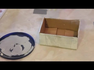 How to Make a Shabby Chic Card Box : Arts & Crafts