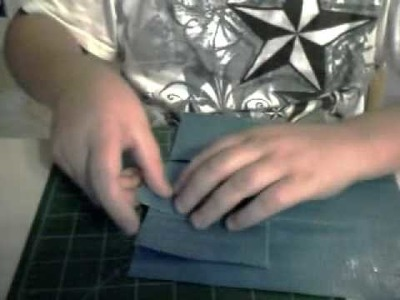 How to make a womens duct tape wallet part 3