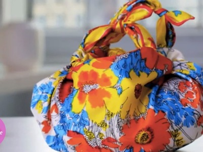 Knotted Handkerchief Purse - DIY Style - Martha Stewart