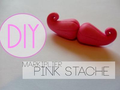 Markiplier Stache Tutorial [Polymer Clay ^_^]