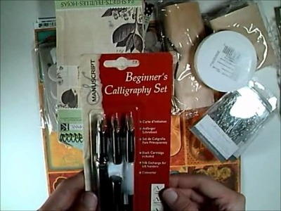 Michaels Scrapbooking Haul - Sept. 2011