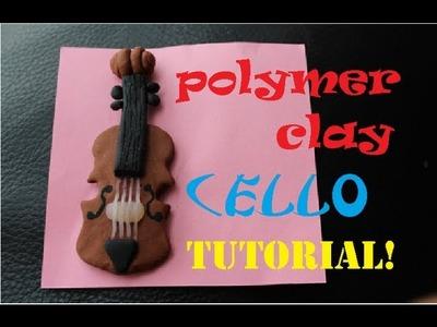 Polymer Clay CELLO Tutorial! :D