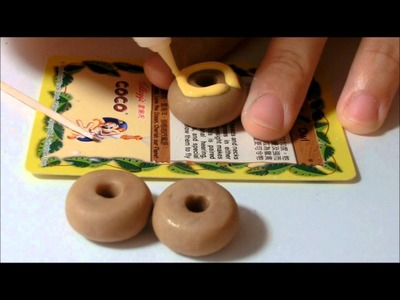 ★Polymer Clay Donuts Turtorial