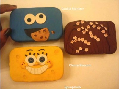 Polymer Clay Tin
