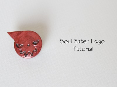 Polymer Clay Tutorial: Soul Eater's Logo