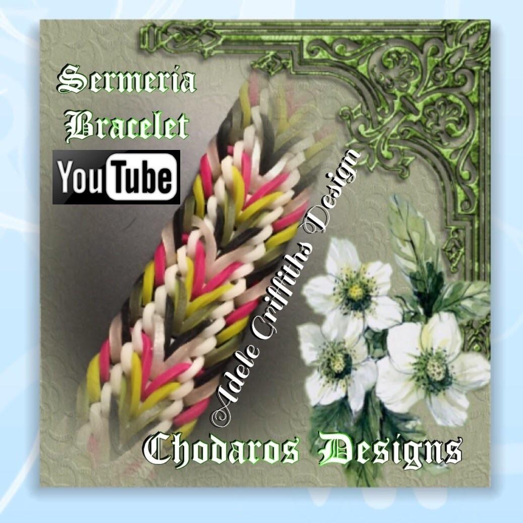 Rainbow Loom Band Semaria Bracelet Tutorial. How to