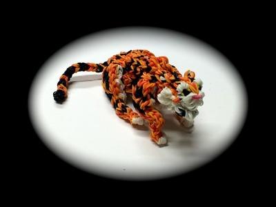 Rainbow Loom Tiger Adult (Part 4.5)
