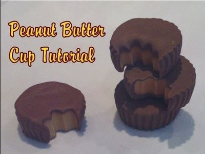 Reese's Peanut Butter Cup Tutorial (Polymer Clay)