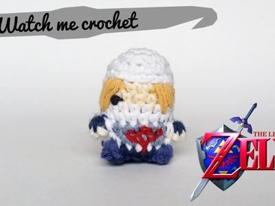 Sheik from Legend of Zelda - Watch me Crochet