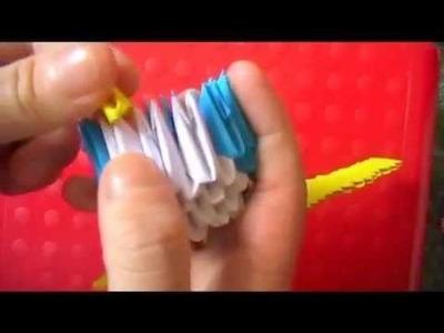 3D origami: tuxedo sam
