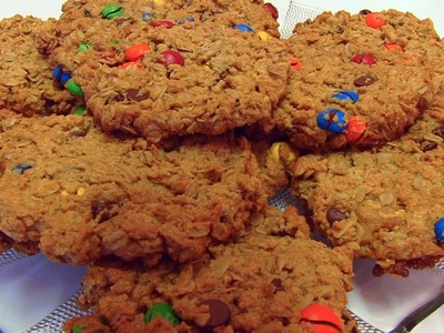 Betty's M&Ms Monster Cookies