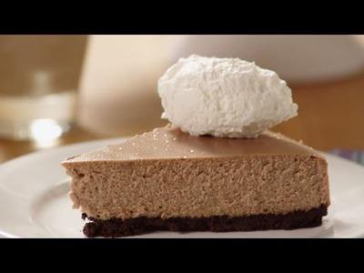 Cheesecake Recipes - How to Make Irish Cream Chocolate Cheesecake