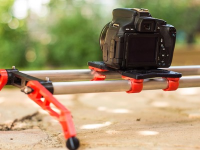 DIY 3D printed Camera Slider - DIY Dudes