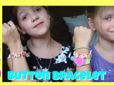 DIY Bracelet Giveaway | How To Make & Win Bracelets with Buttons and String | Jazzy Girl Stuff