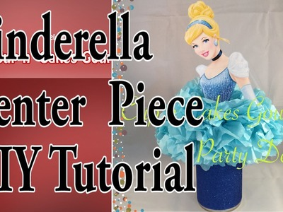 DIY Cinderella Center Piece SUPER EASY and CHEAP !