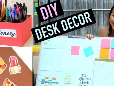 DIY Desk Organization & Decor for Back To School | CarolynInNYC