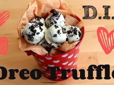 DIY ♡ Easy Oreo Truffles (No Bake)   Enchantelle