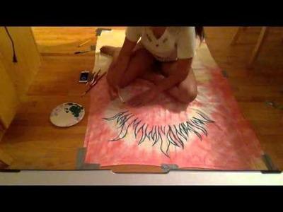 DIY Glow-in-the-Dark Tapestry