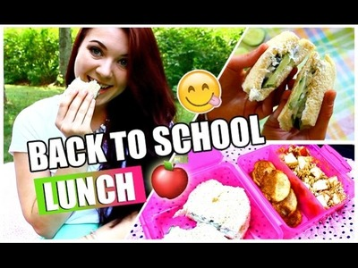 DIY Healthy Lunch for School QUICK & EASY | #BTSwithAmanda