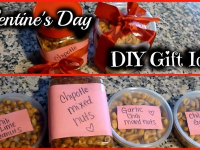 DIY Last Minute Gift Idea | Flavored Nuts Recipe + Tutorial!