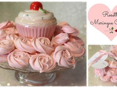 DIY- Rosette Mernigue Cookies (Valentine's Day)